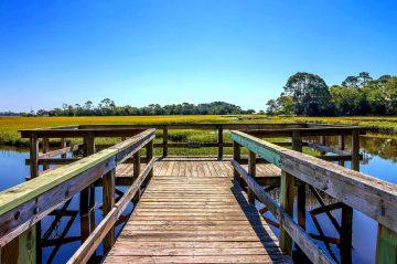 Marsh Cottage dock