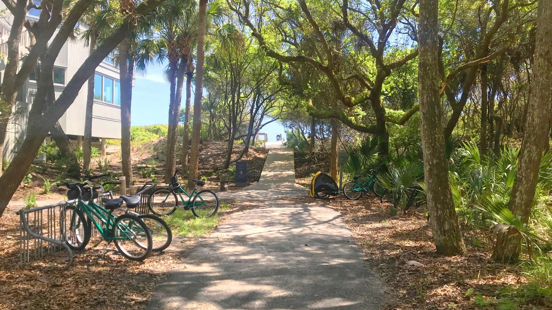Bike Area near Kiawah Island Boardwalk