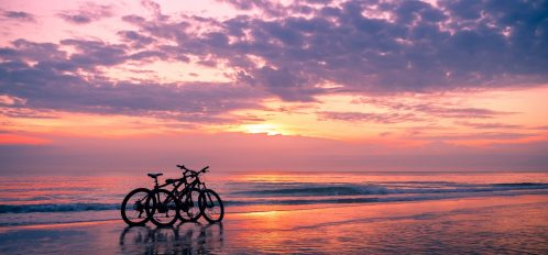 Kiawah Island Bike on Beach