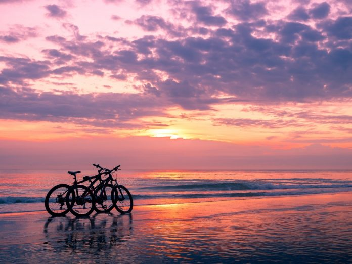 Kiawah Island Bike on Beach