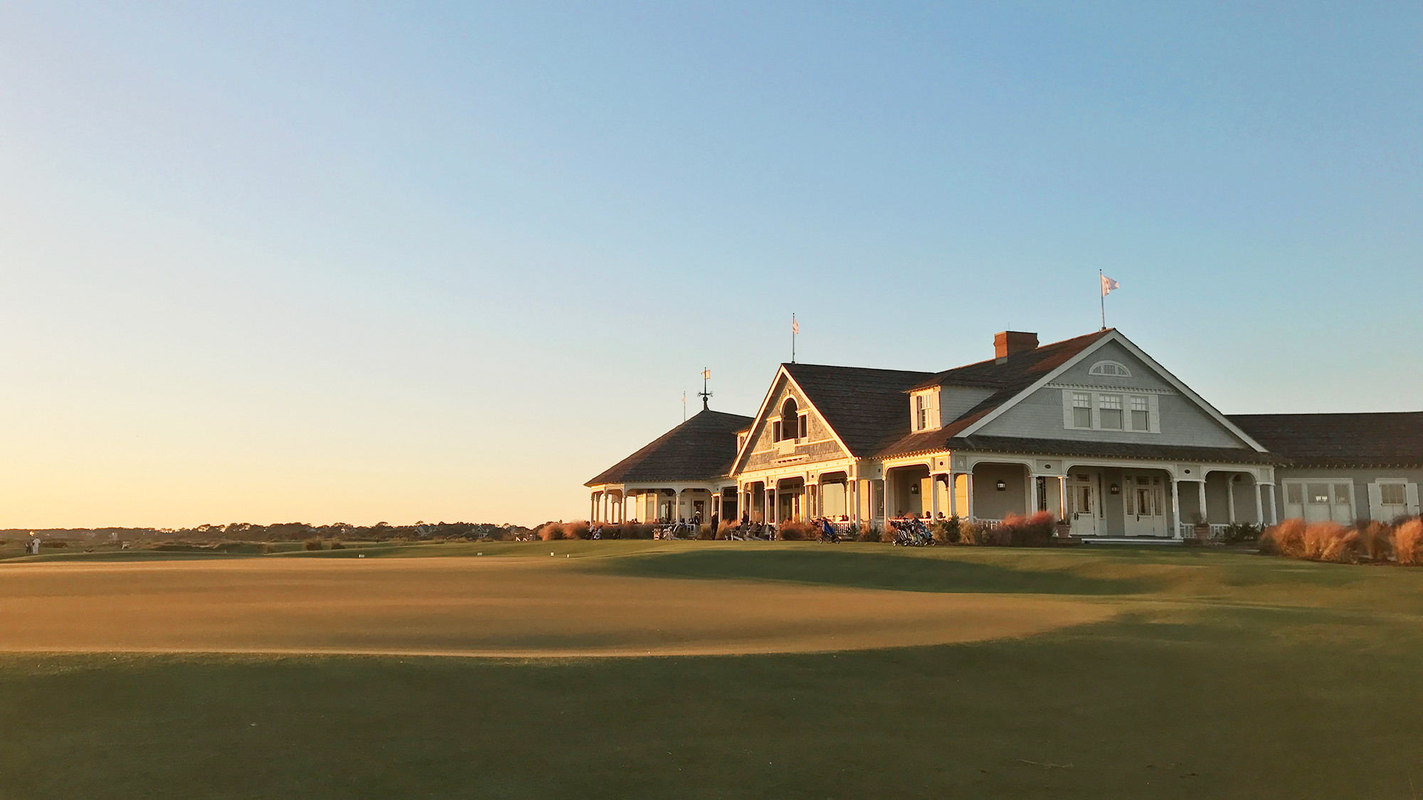 Ocean Course Clubhouse Kiawah Island at Sunset