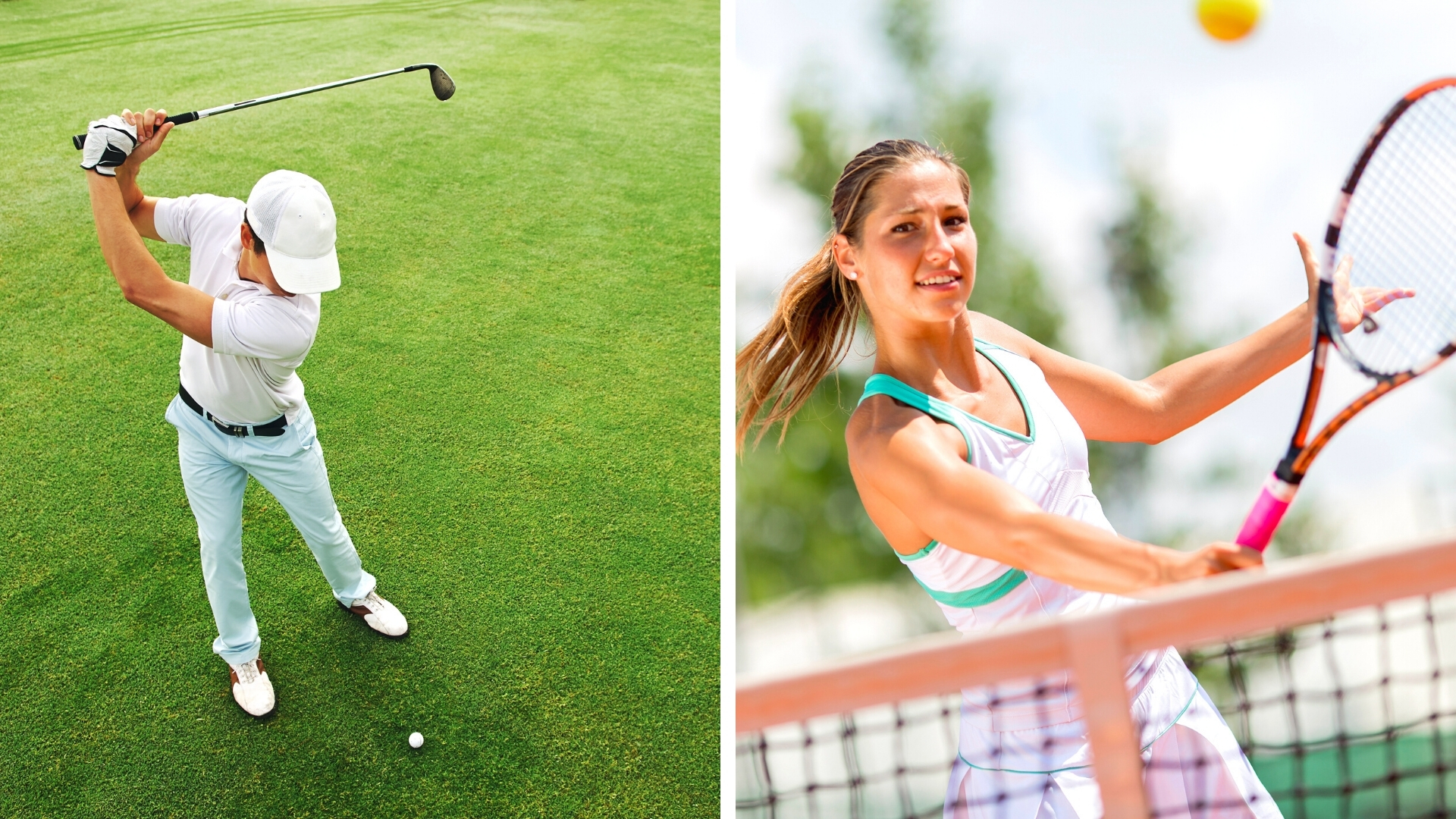 Golf and Tennis on Kiawah Island in the Summer