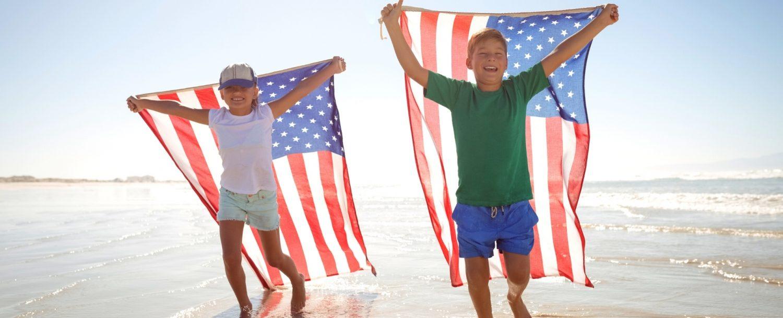 Celebrating 4th of July on Kiawah Island