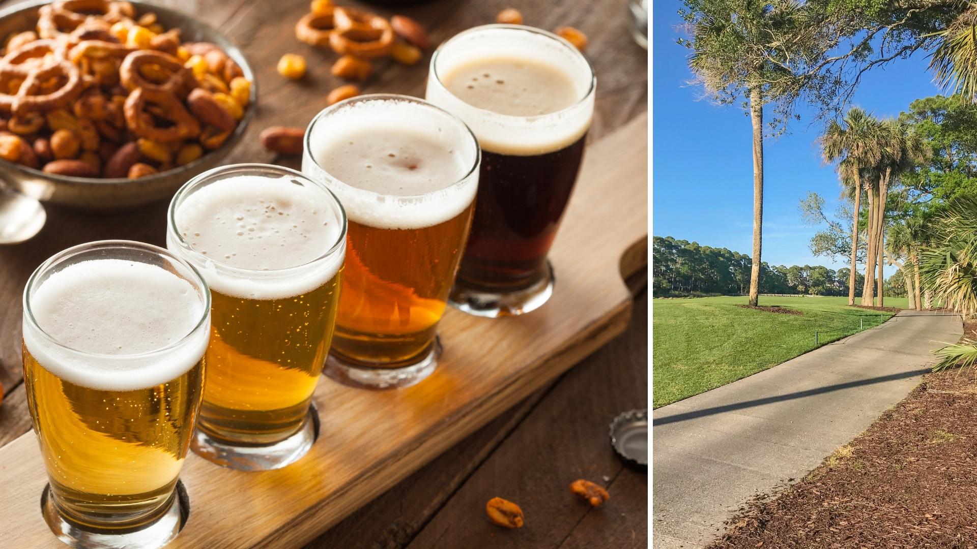 Cherrywood BBQ and Ale House - Beer on Kiawah Island