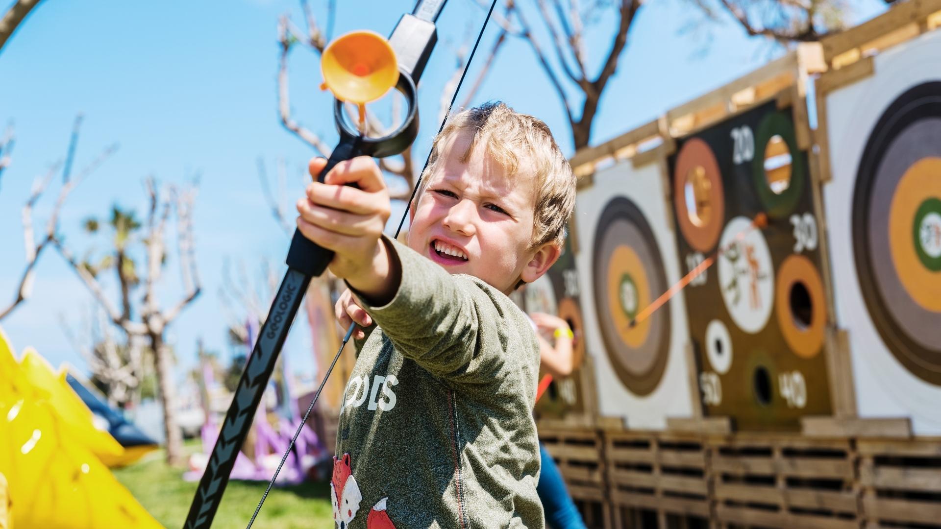 Archery at Fall Event near Kiawah Island